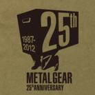 Metal Gear - Camiseta MSX de 25º aniversário