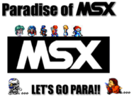 Paradise of MSX moved
