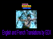 Super Rambo Special - English and French