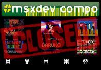 #msxdev compo 2012 closed