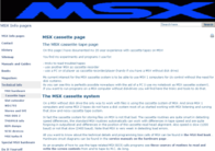 15 años de MSX Info pages, página web movida
