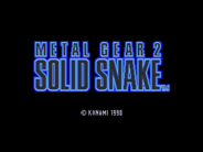 Metal Gear 2 Solid Snake, English v1.4