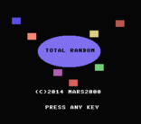 MSXdev'14 - Total Random announced