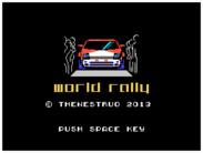 MSXdev'14 - Anunciado World Rally