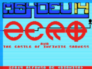 MSXdev'14 - ZERO and the Castle of Infinite Sadness announced