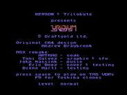 MSXdev'14 #4 - Uridium