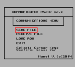 COMMUNICATOR RS232 v2.0
