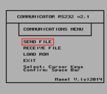 COMMUNICATOR RS232 v2.1