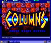 Sega Columns remake for SymbOS
