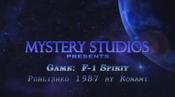 F - 1 Spirit Ending por Mystery Studios
