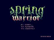 Spring Warrior released