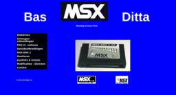 Bas Kornalijnslijper reopens MSX website