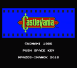 Vampire Killer to Castlevania MSX2 patch