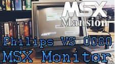 O canal MSX Mansion demonstra o monitor da Philips VS0080 New Media Systems