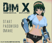 DIM X a new game by Kai Magazine