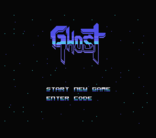 Ghost, new game for MSX in development