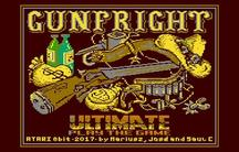Atari 8-bit and Commodore ports of Gun Fright
