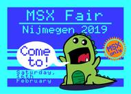 Annual MSX fair in Nijmegen 2019