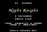 Night Knight released