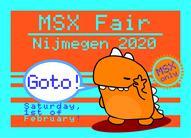 Reminder: MSX Fair Nijmegen 2020