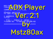 *updated* Quick ADX Player Ver. 2.1 by Mstz80ax