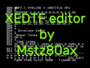 XEDTF music editor by Mstz80ax