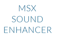 MSX SOUND ENHANCER by Lost Technology