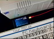 Use your MSX as an USB keyboard