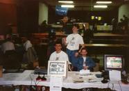 Hegega's booth on the MSX meeting in Elsloo, 1994