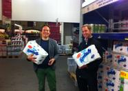The day before - Latok and Snout shopping at Makro. First, the bare essentials!