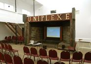 There it is! The Uniplexe of Cedric Daoud, ready to be used as our steampunk styled presentation cinema!