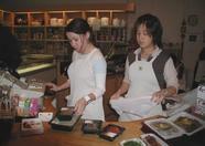 Nice and helpful Asian girls at Shilla Korean and Japanese foodstore.
