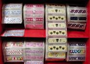 Remember the plasters that came with Fray? Here are the Hello Kitty ones. (Okura)