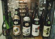 Some excellent Sake in Japanese super mart in Okura Hotel
