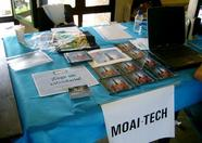 Another Moai Tech stand view
