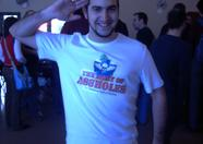 viejo_archivero demonstrating his Army of assholes T-shirt...