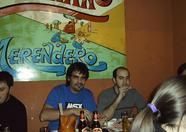 makinavaja had lots of fun with beer during dinner
