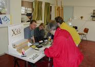 The Delta Soft stand sharing with MSX-Club West-Friesland