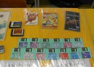 Prizes up close, a set of MSX-Fan disks can be won
