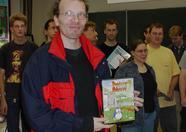 Quiz winner Jan Lukens won Pentaro Odyssey 2