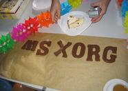 MSX.ORG chocolate letters!