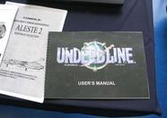 A preview of several manuals translated to English were on display. Here you can see the Aleste 2 and Undeadline manuals
