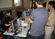 Bussum 2005 - openMSX booth