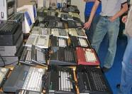 Jetze Mellema brought a huge collection of cool, rare (and often a combination of the two) MSX computers