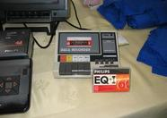 The infamous cassette recorder, ready for action: the MRC Mystery Challenge!