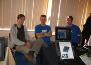 Rieks, Bart and Sander of Bazix