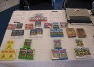 The Bitwise booth, with Matra cartridges on sale!