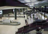 The luggage claim area of Narita airport.
