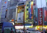 Some buildings in Akihabara.