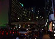 Large buildings.